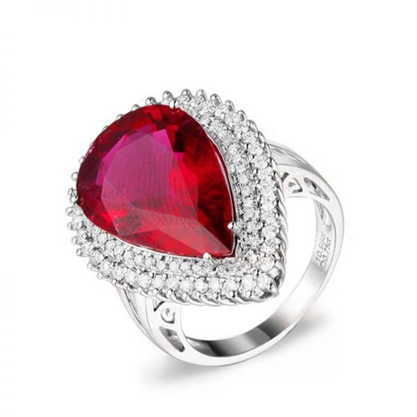 natural Tourmaline Ring