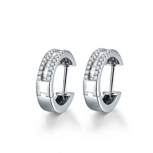 natural Diamond Earring