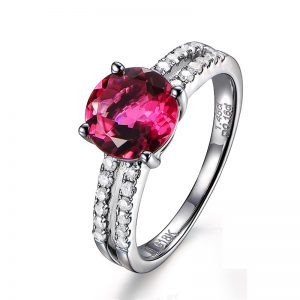 natural Tourmaline Ring