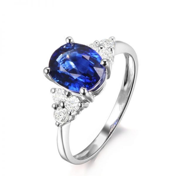 natural Sapphire Ring