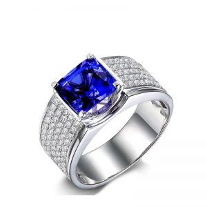natural Tanzanite Ring