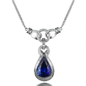natural Tanzanite Pendant