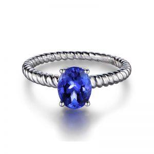 natural Tanzanite Ring