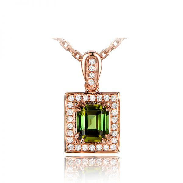 natural Tourmaline Pendant