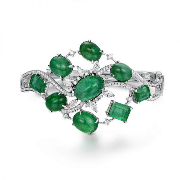 natural Emerald Bracelet