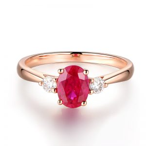 natural Ruby Ring
