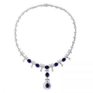 natural Sapphire Necklace