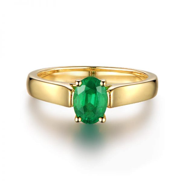 natural Emerald Ring