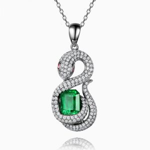 natural Emerald Pendant