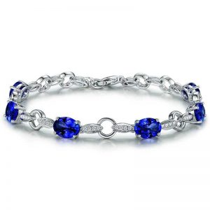 natural Tanzanite Bracelet