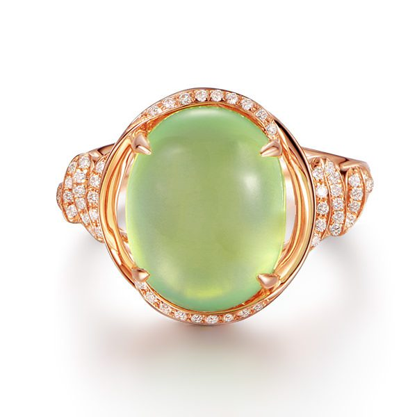 6.05ct Natural Multi Colored Stones in 18K Gold Ring